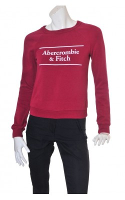 Bluza molton Abercrombie&Fitch, marime XS