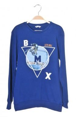 Bluza molton Cubus, imprimeu BMX