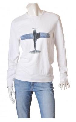 Bluza molton H&M L.o.g.g., marime 38