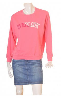Bluza molton roz H&M, marime M