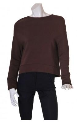 Bluza molton supradimensionata Mette Moller, marime 40