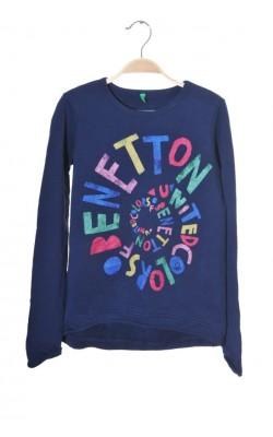 Bluza molton United Colors of Benetton, 10-11 ani