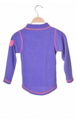 Bluza mov fleece Navigare, 3 ani