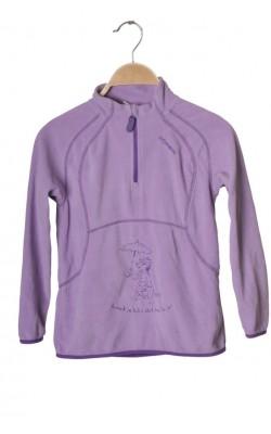 Bluza mov fleece Stormberg, 7-8 ani