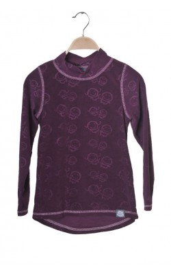 Bluza mov fleece Tiny Trolls of Norway, 8 ani