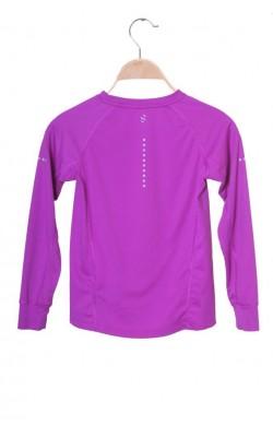 Bluza mov H&M Sport, 6-8 ani