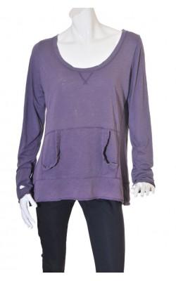 Bluza mov H&M Sport, marime XL