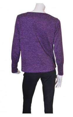 Top tricot mov, croi supradimensionat B.Young, marime L