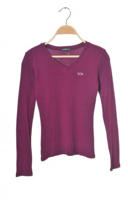 Bluza mov United Colors of Benetton, 9-10 ani