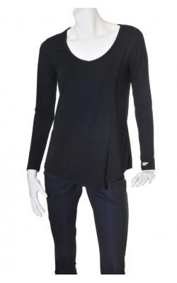 Bluza neagra asimetrica Myprotein, mix vascoza, marime M