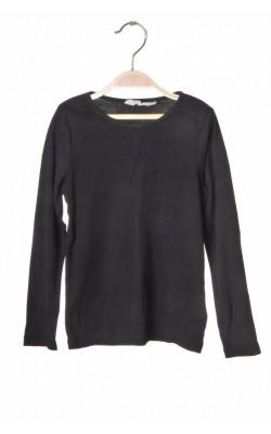 Bluza neagra din bumbac H&M, 4-5 ani