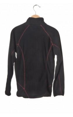 Bluza neagra fleece Jotunheim, 12 ani