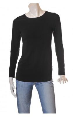 Bluza neagra H&M Mama, bumbac organic, marime M