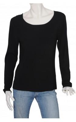 Bluza neagra jerse vascoza French Laundry, marime XL