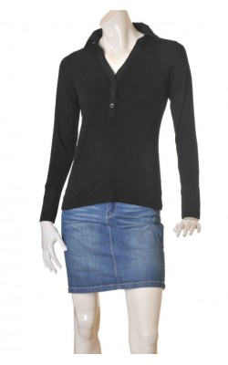 Bluza neagra Popin Collection, marime 42