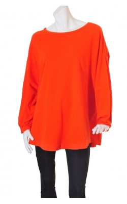 Bluza oranj Ellos The Conscious Choice, marime 58/60
