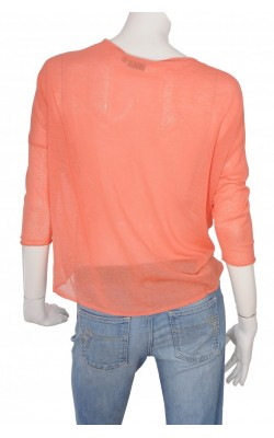 Bluza oranj oversized KappAhl, marime S