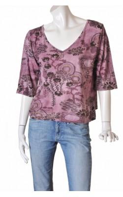 Bluza oversized din jerseu vascoza Fair Lady, marime 40