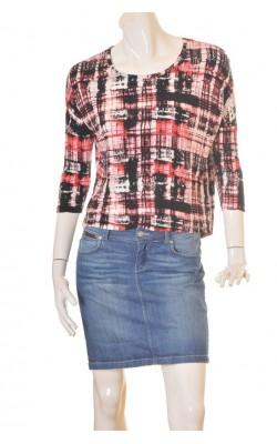 Bluza oversized din jerseu Vila, marime S