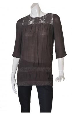 Bluza panza topita si dantela Soya Concept, marime S