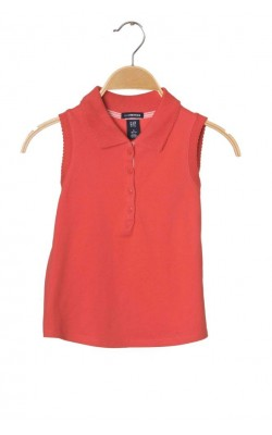 Bluza piersica Gap Stretch, 6-7 ani