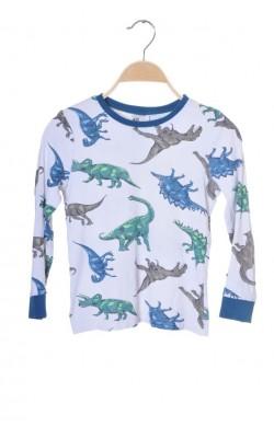 Bluza print dinozauri H&M, 6-8 ani