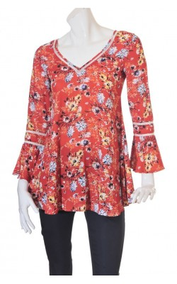 Bluza print floral One Way, marime 36/38