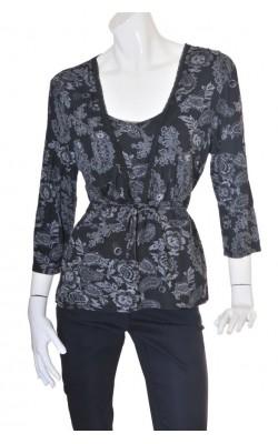 Bluza print floral Soya, marime XL