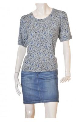 Bluza print pasari H&M, marime XL