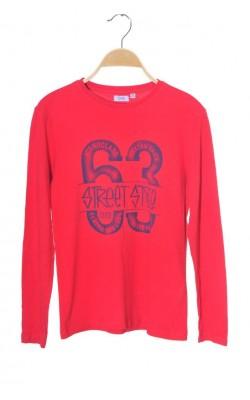 Bluza rosie bumbac Oviesse, 11-12 ani
