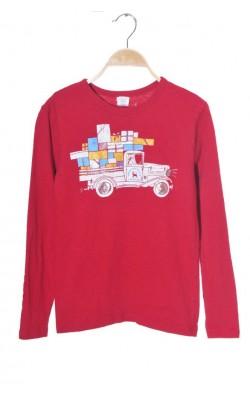 Bluza rosie cu imprimeu Crewcuts, 12 ani
