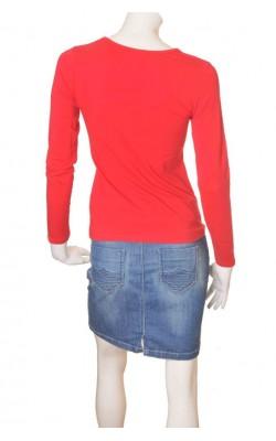 Bluza rosie Cubus, bumbac organic, marime S