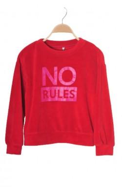 Bluza rosie fleece Cubus, 11-12 ani
