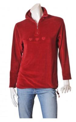Bluza rosie Hanna M, marime L