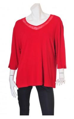 Bluza rosie Hs, marime 3XL