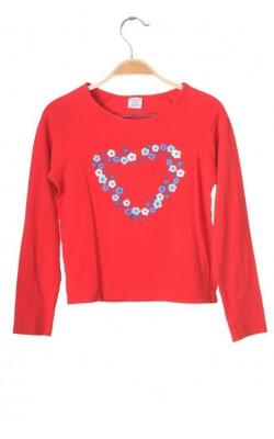 Bluza rosie Polarn O.Pyret, 8-10 ani