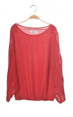Bluza rosie Sorbet, marime S