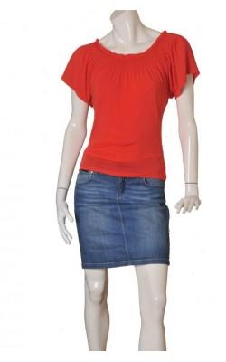 Bluza rosie Stills, modal, marime S
