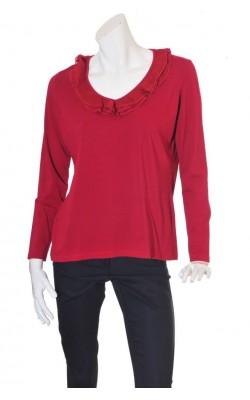 Bluza rosu bordeaux Linnea, marime XL