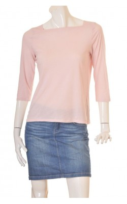 Bluza roz bumbac organic Gina Tricot, marime M