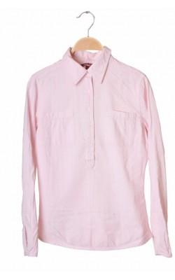 Bluza roz bumbac texturat H&M L.o.g.g., marime 34