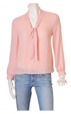 Bluza roz cu funda H&M, marime 42