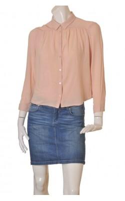 Bluza roz somon H&M, marime M