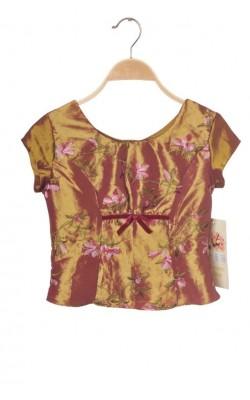 Bluza satin Genuine Rose, imprimeu floral, 9-10 ani