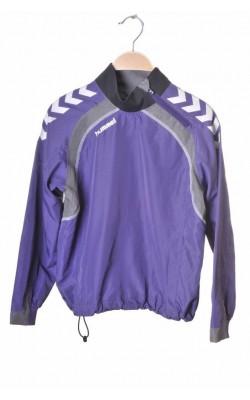Bluza sport Hummel, fas mov cu gri, 10 ani