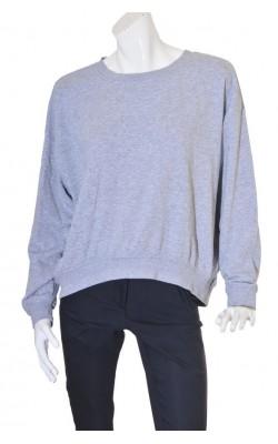 Bluza supradimensionata H&M, molton, marime L