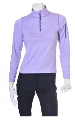 Bluza Swedemount layer 2, culoare lila, marime S