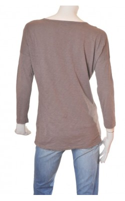 Bluza taupe din bumbac subtire Bik Bok, marime M