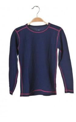 Bluza termica bumbac si lana Cubus, 9-10 ani