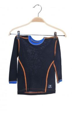 Bluza termica lana merinos Janus, 2-3 ani